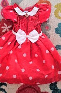 DISNEY STORE Minnie Mouse Girls Dress